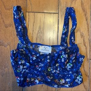 Urban Outfitters Pins & Needles Floral Lace Bralet